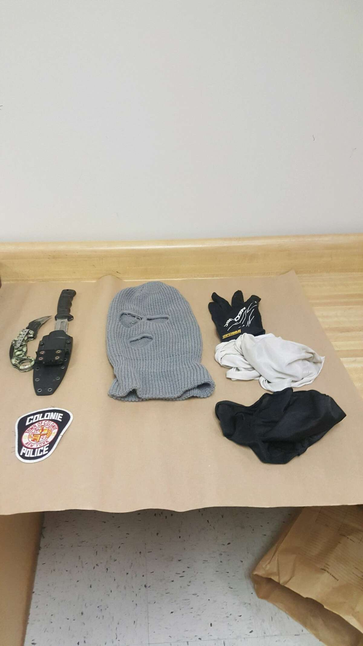 Colonie Police said they recovered two weapons, ammunition and drugs after an early morning traffic stop. Colonie Police said they recovered two weapons, ammunition and drugs after an early morning traffic stop.