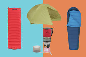 The  Marmot Tungsten UL Ten t is just one of the recommended essentials for ultralight camping.