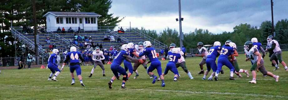 Friday night marked the first week of football games played under the new increased attendance policy. (Pioneer file photo/Joe Judd)