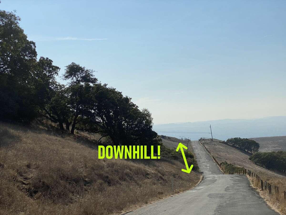 Gravity Hill, Sonoma County, October 2020.