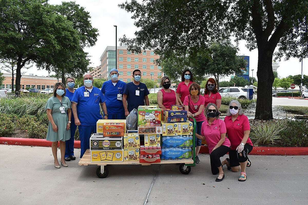 CWC donated food to HCA Houston Healthcare North Cypress to celebrate Hospital Staff week for the frontline workers.