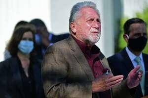 File photo of Norwalk Mayor Harry Rilling, taken on Friday, October 9, 2020, at Norwalk High School in Norwalk, Conn.