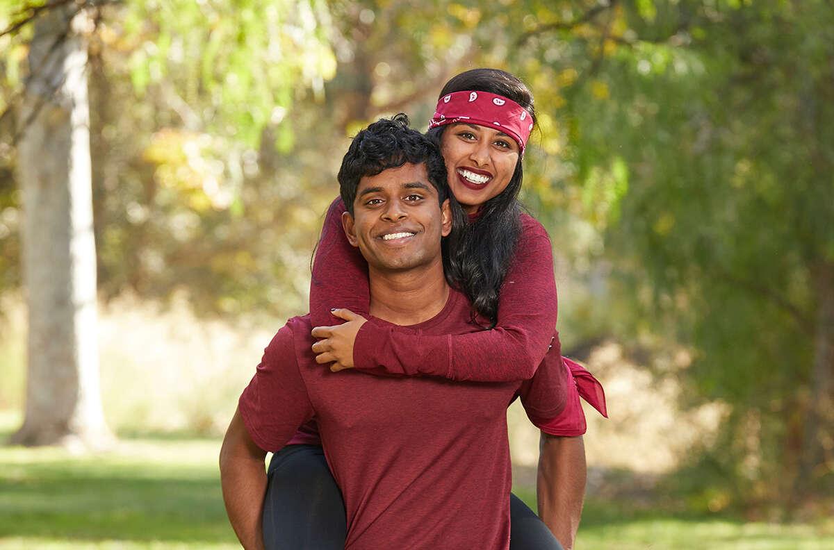 Berkeley natives Aparna and Eswar Dhinakaran will appear on the new season of