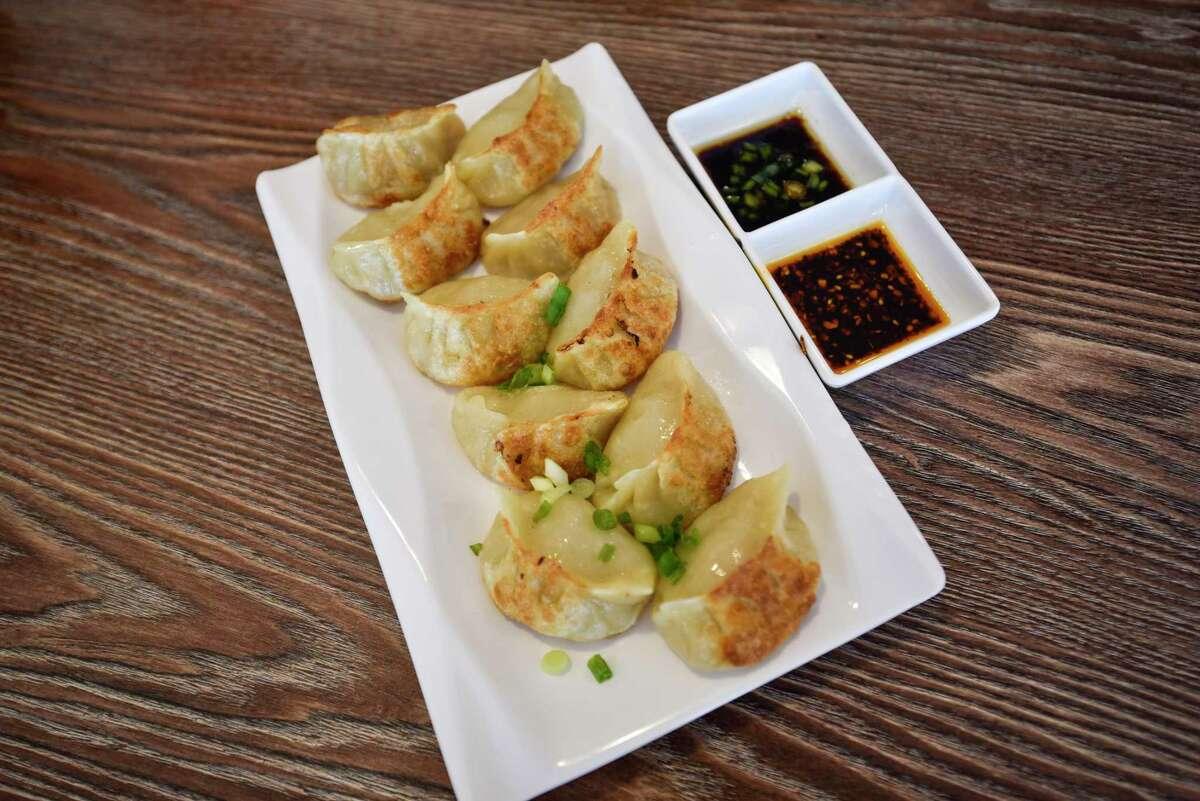 Hello Chinese Dumpling?•s pan fried dumplings on Friday, Oct. 9, 2020 at 4322 Andrews Highway. Jacy Lewis/Reporter-Telegram