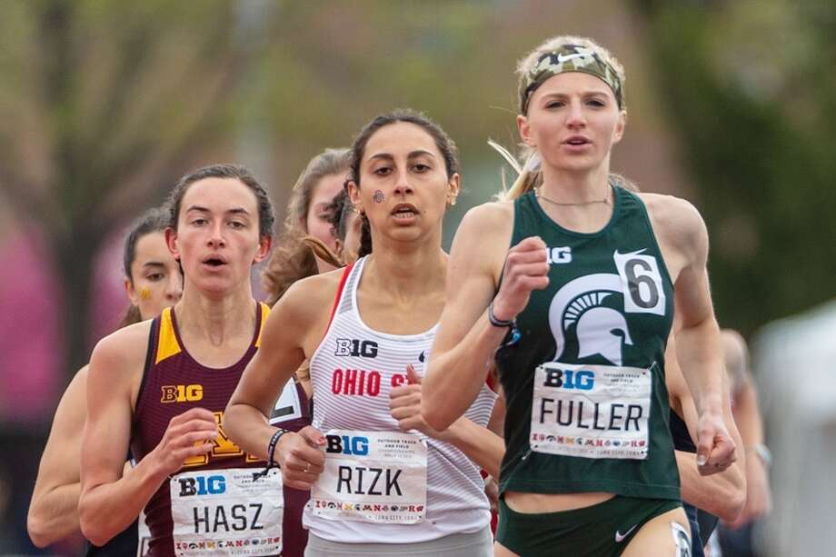 Annie Fuller races for the Michigan State Spartans. Photo: Courtesy Photo