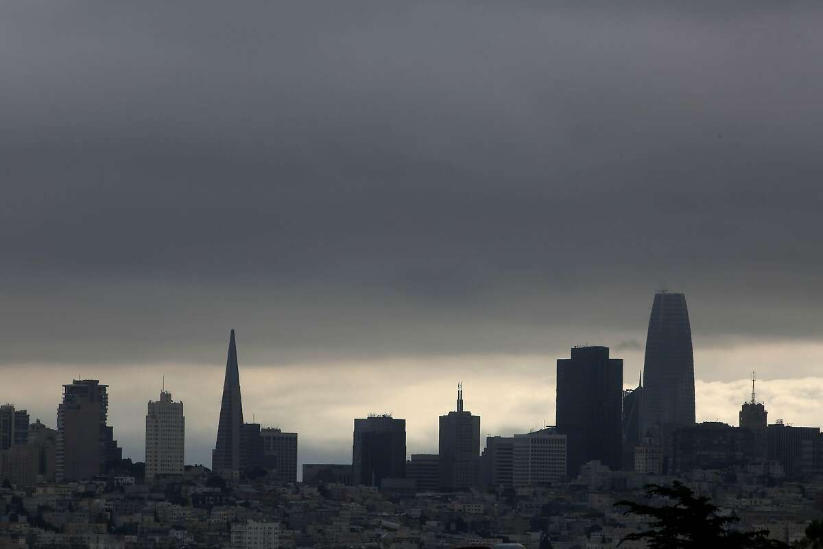The future is cloudy, but that's nothing new for a city wreathed in fog.