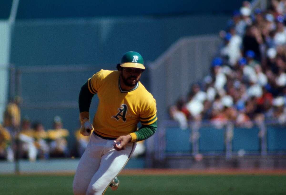 Hall of Fame Reggie Jackson hit six home runs in 10 career World Series games at Dodger Stadium.