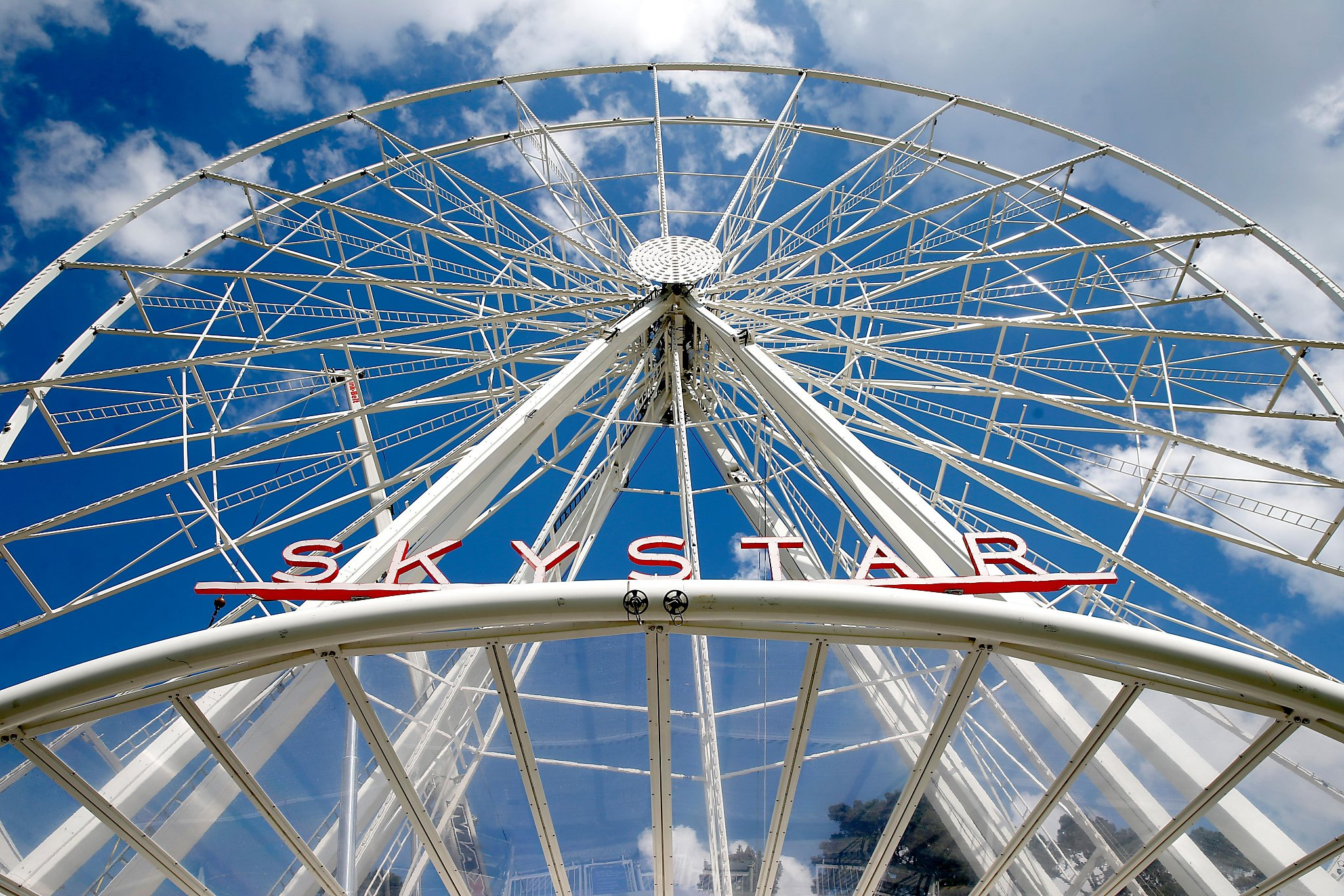 No special ride on giant S.F. Ferris wheel for London Breed. Safety inspection took longer than expected