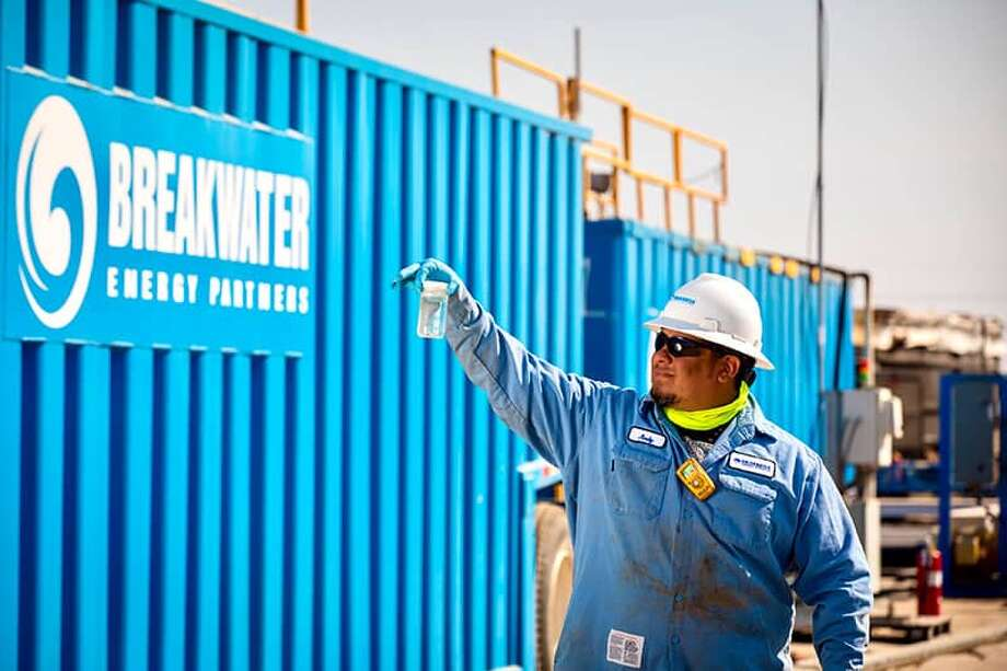 Breakwater Energy has opened its Big Spring Recycling System to help area oil producers reach their goal of using 100 percent recycled water in their operations. Photo: Courtesy Of Breakwater Energy