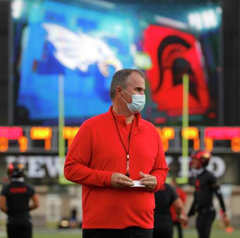 Porter head coach Jim Holley is seen before a District 8-5A high school football game at Randall Reed Stadium, Friday, Oct. 9, 2020, in Porter. Photo: Jason Fochtman, Staff Photographer / 2020 © Houston Chronicle