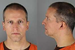 "(FILES) This file handout photo provided by the Hennepin County Jail and received by AFP on May 31, 2020 shows Derek Chauvin booking photos face and profile. - The main officer charged in the killing of George Floyd, the African American man whose death sparked a mass protest movement, was released on October 7, 2020 on a million-dollar bail, court records showed. The 44-year-old white officer is to face trial in March along with three former colleagues over Floyd's death in Minneapolis, which triggered the largest US anti-racism movement since the 1960s. Chauvin was filmed on May 25 pressing his knee on handcuffed Floyd's neck until he passed out on the street. (Photo by Handout / Hennepin County Jail / AFP) / RESTRICTED TO EDITORIAL USE - MANDATORY CREDIT ""AFP PHOTO / Hennepin County Jail "" - NO MARKETING - NO ADVERTISING CAMPAIGNS - DISTRIBUTED AS A SERVICE TO CLIENTS (Photo by HANDOUT/Hennepin County Jail/AFP via Getty Images)"