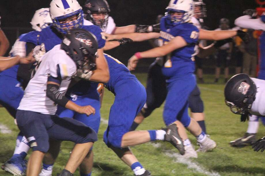 Morley Stanwood was too much for Lakeview on Friday in a 50-18 CSAA Silver football win. Photo: John Raffel