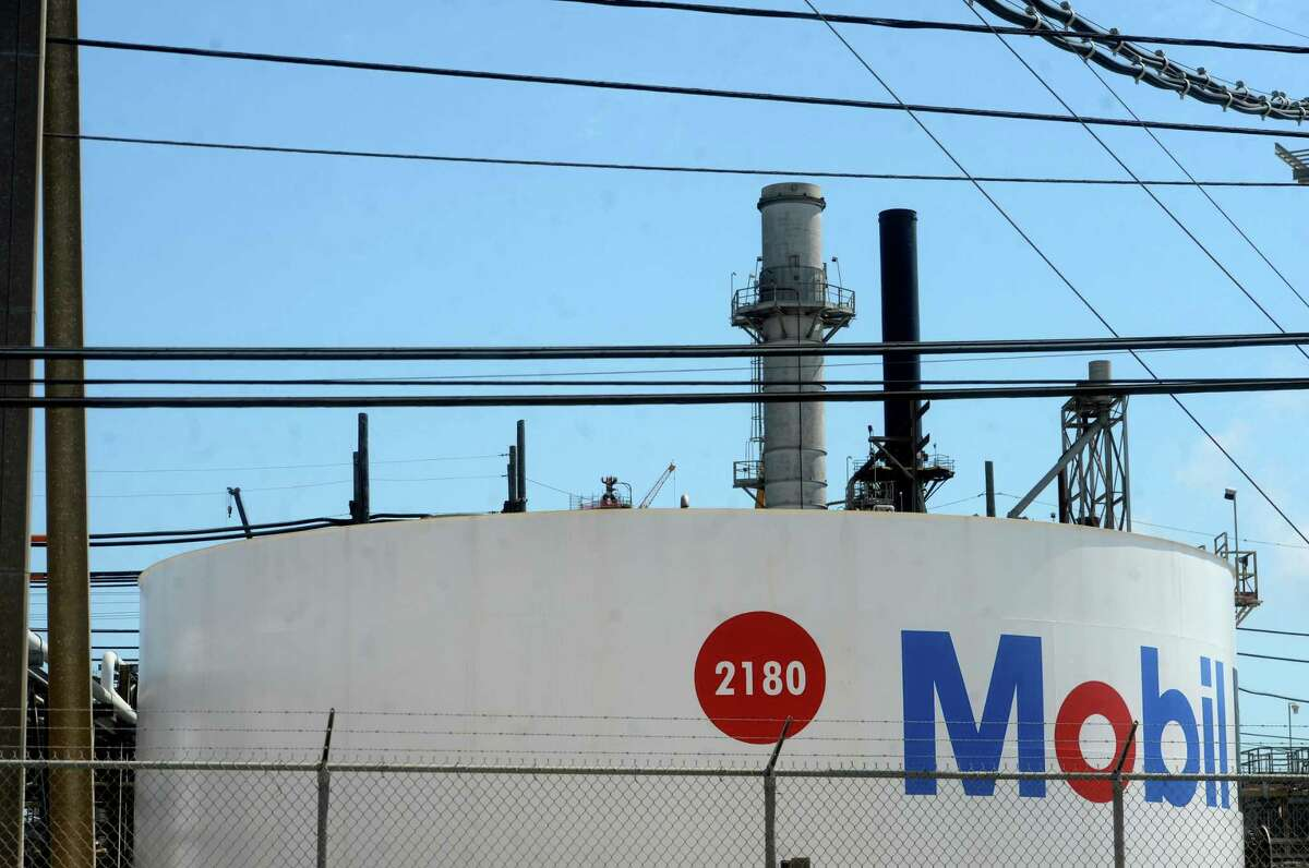 The Exxon Mobil plant in Beaumont operates Tuesday. Jefferson County Judge Jeff Branick was somber in his daily updates inn reference to the economic impact locally of the current state of the oil and gas industry. Photo taken Tuesday, April 21, 2020 Kim Brent/The Enterprise