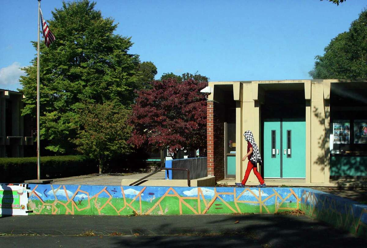 Quinnipiac Real World Math STEM School in New Haven Oct. 9, 2020.