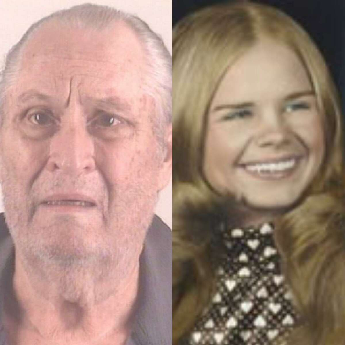 Glen Samuel McCurley, left, 77, of Fort Worth, is being charged with capital murder for the death of Carla Walker, right, 17, of Fort Worth.