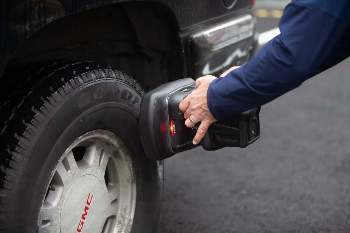 Viken Detection's Handheld X-Ray Imager is used along the southern border to scan a vehicle in minutes instead of an officer having to dismantle a suspicious vehicle.