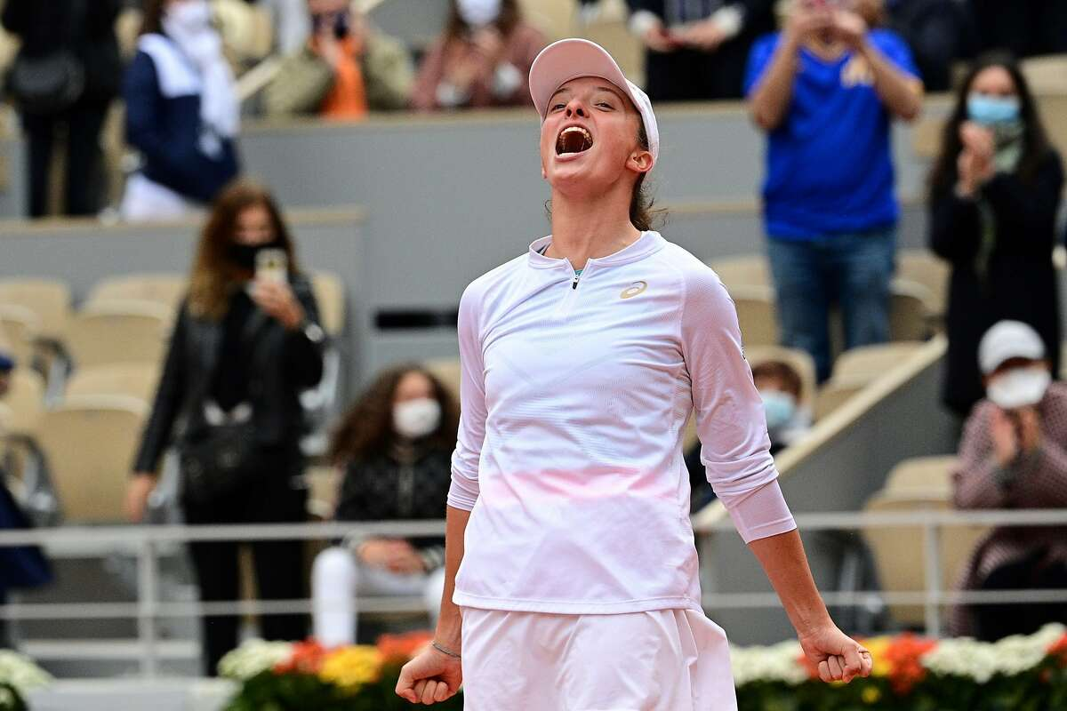 Iga Swiatek is the toast of Poland after beating Sofia Kenin for the French Open title Saturday.