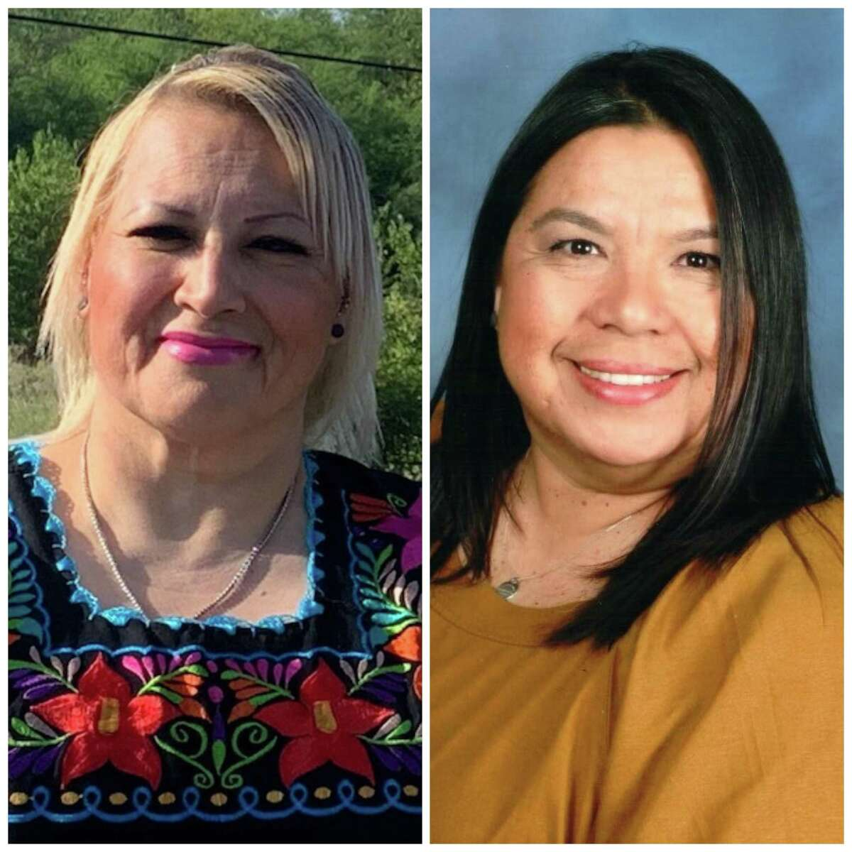 A victory for Gina Villagomez, left, over Veronica Barba for a South San ISD board seat is a welcome change. But more change is needed to put this troubled district on the right path.