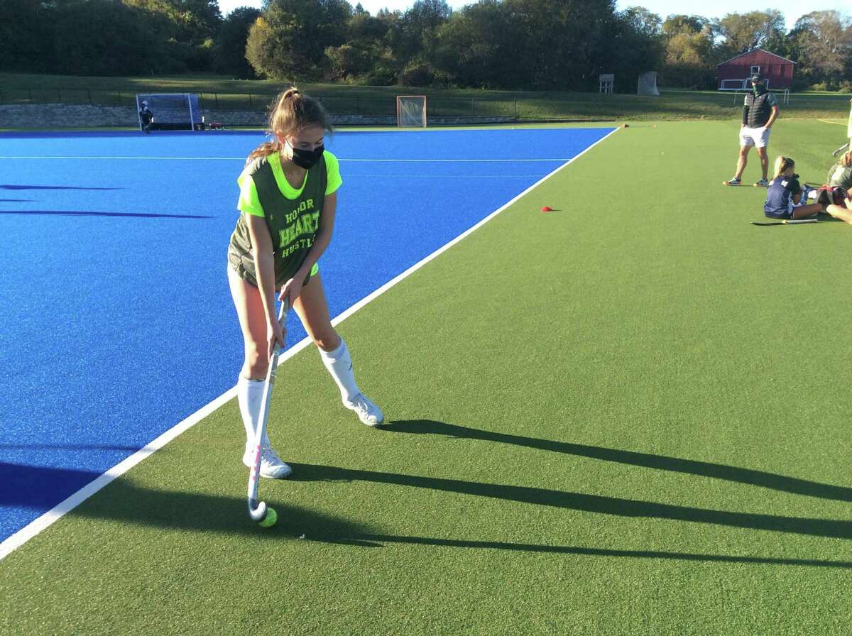 Fiona Lewis is a senior captain of the Sacred Heart Greenwich field hockey team.