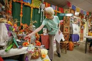 Casa Ramirez owner, Chrissie Ramirez held a class on Dia de Los Muertos (Day of the Dead) altars Saturday, Oct. 10, 2020, in Houston.