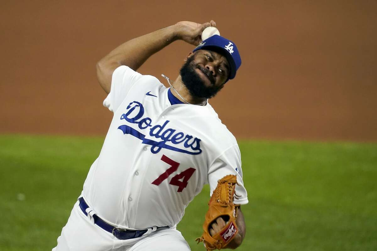 At 33, three-time All-Star Kenley Jansen seems to have lost some velocity and control. He averaged 93-94 mph earlier this season, but only reached 92 mph three times in a playoff win over San Diego on Wednesday, when he needed 30 pitches to get two outs.