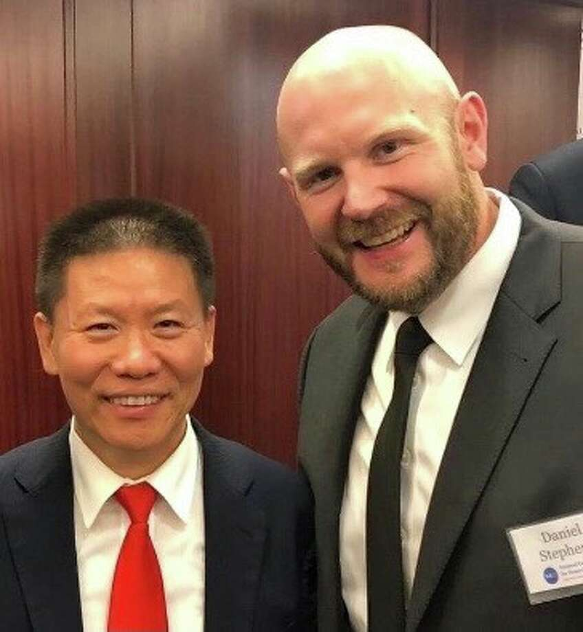Bob Fu and Daniel Stephens Photo: Courtesy Photo
