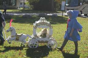 The pet parade, pop-up art market, pumpkin contest and Roll and Stroll event at North Point Park offered those in Onekama plenty of things to do on Saturday.