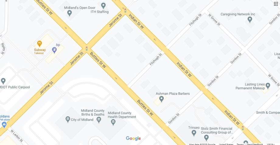 Buttles Street is closed Sunday, Oct. 11, due to a water main break. (Screen photo/Google Maps) Photo: Google Maps