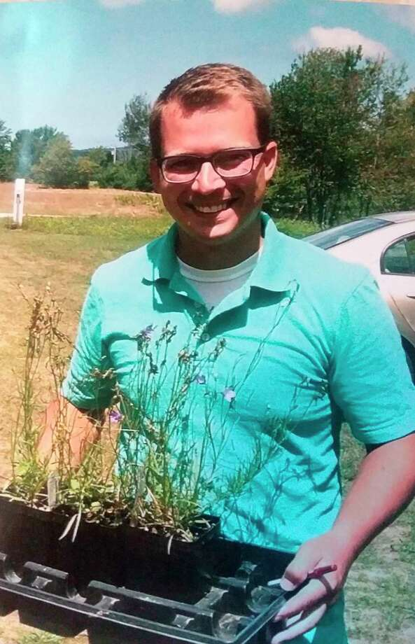 Matt LaMore, owner of Black Cap Farm in Onekama, was the guest speaker in September at the Spirit of the Woods Garden Club, Inc. meeting. (Courtesy photo)