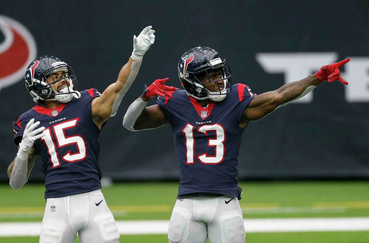 Brandin Cooks (13), Will Fuller and the Texans haven't had much to celebrate this season save their Week 5 win over the Jaguars. They get another shot at Jacksonville on Sunday.