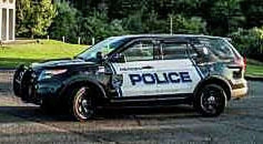 A file photo of a Meriden, Conn., police cruiser. Photo: Contributed Photo / Meriden Police Department