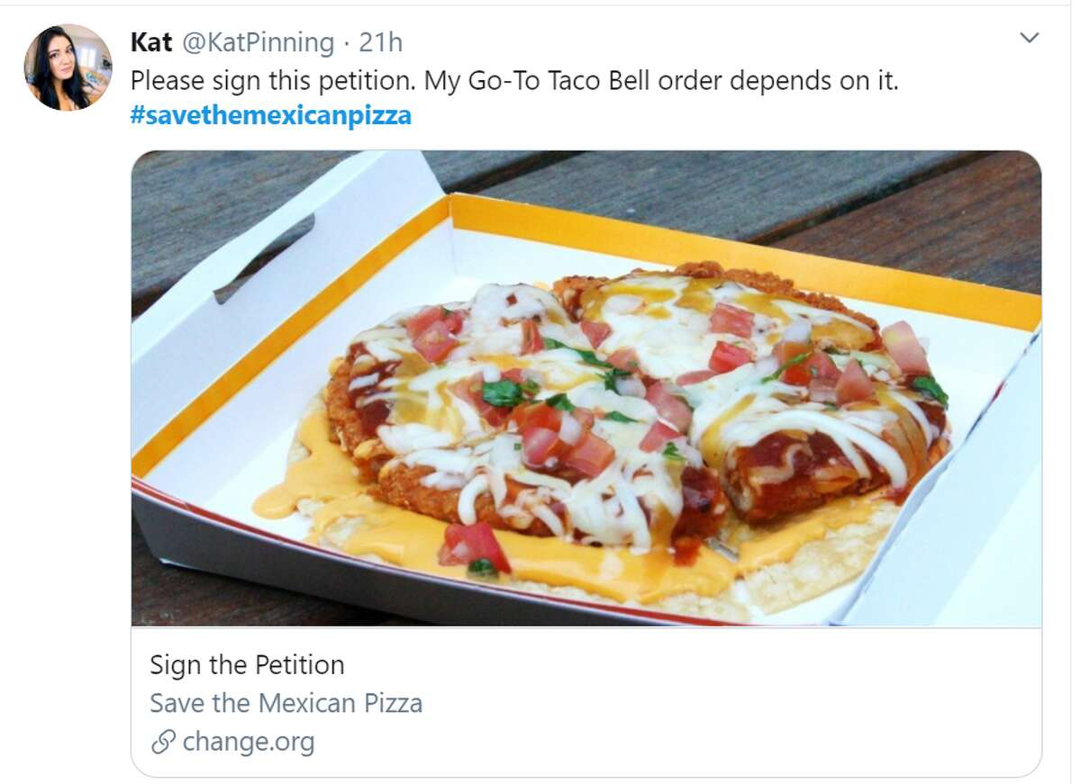 Taco Bell has a fight on its hands with fans across the country uniting to sign a petition to save the iconic Mexican Pizza many grew up with.