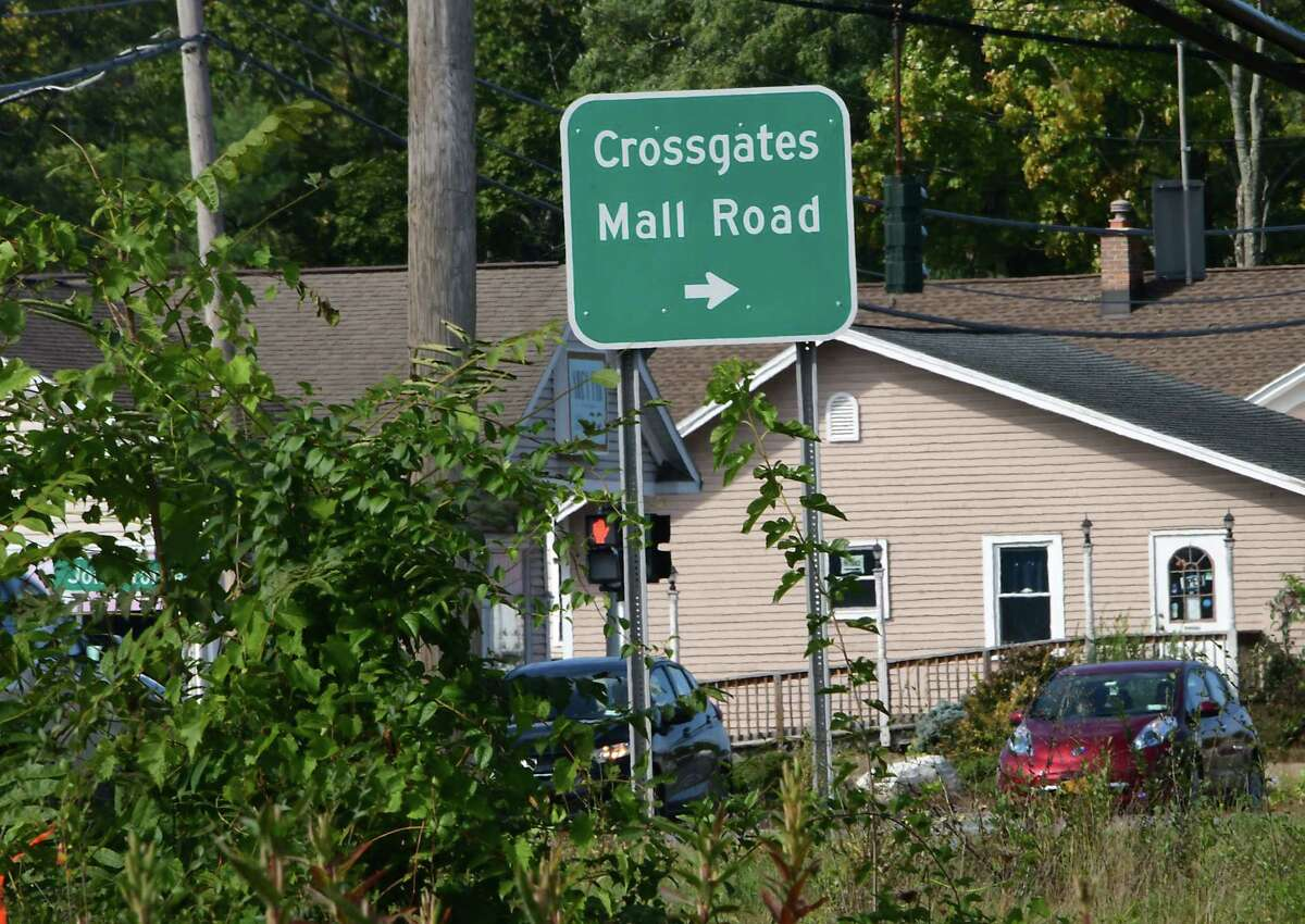Work on new Costco is still at a standstill near Crossgates Mall on Monday, Oct. 12, 2020 in Guilderland, N.Y. (Lori Van Buren/Times Union)