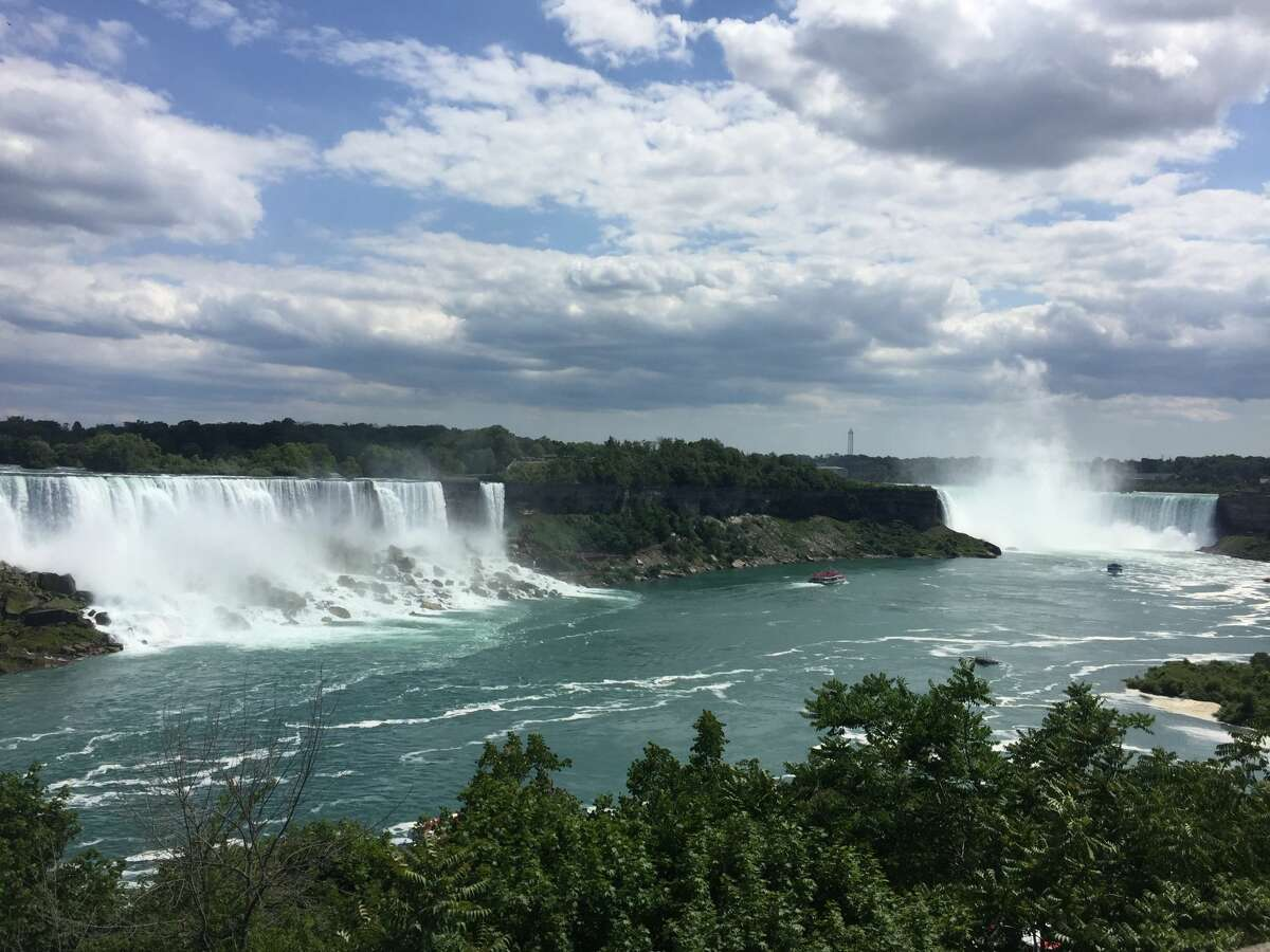 Niagara Falls in Buffalo.