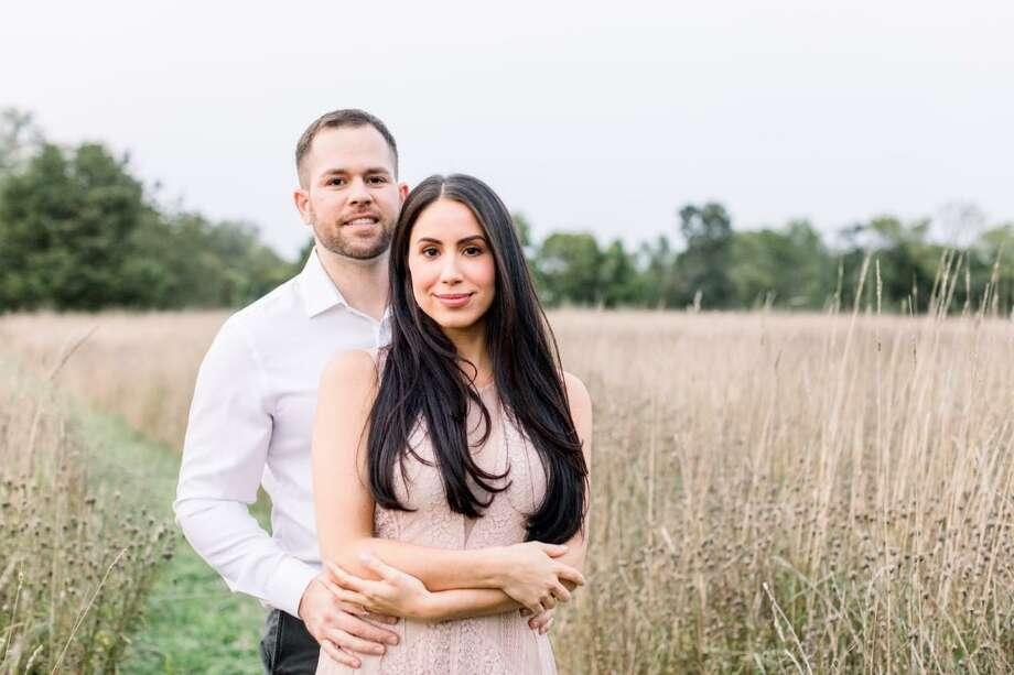 John Castagna and Rachel Mastroni Photo: Contributed Photo /