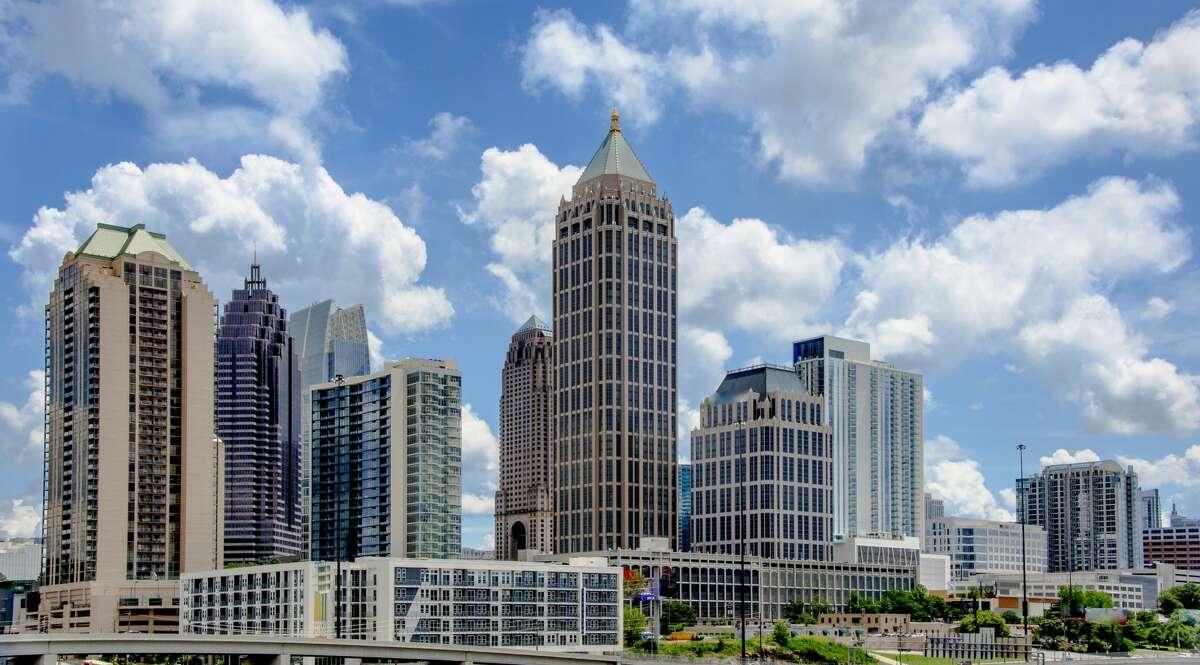 Atlanta Skyline - Mid-Town District , Atlanta, Georgia