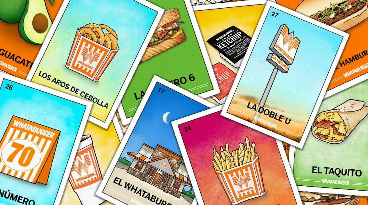 Whataburger released its own Lotería set to celebrate Hispanic Heritage Month.