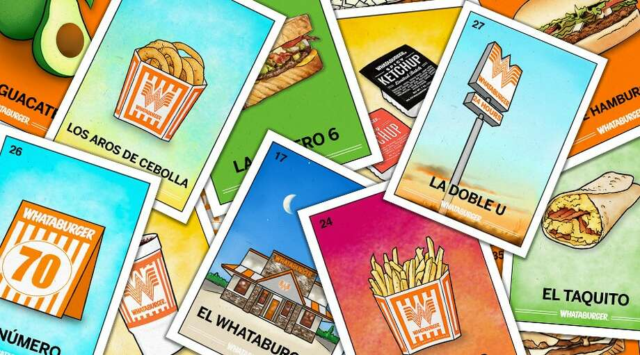 Whataburger released its own Lotería set to celebrate Hispanic Heritage Month. Photo: Whataburger