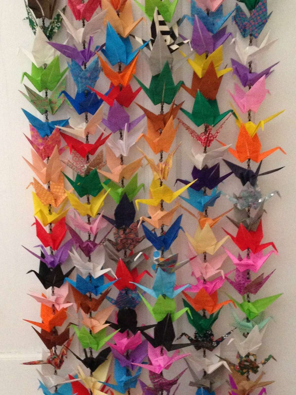 The Torrington Historical Society presents an exhibit of hand-folded paper cranes, starting Oct. 17.