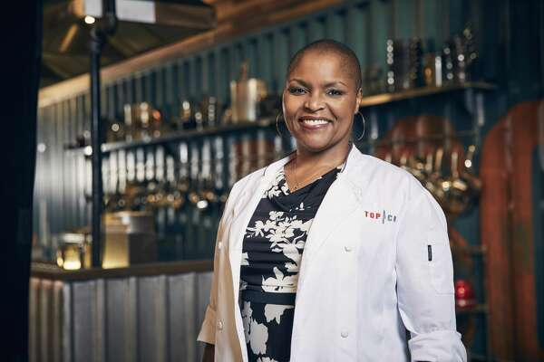 TOP CHEF -- Season:15 -- Pictured: Tanya Holland -- (Photo by: Tommy Garcia/Bravo/NBCU Photo Bank/NBCUniversal via Getty Images)