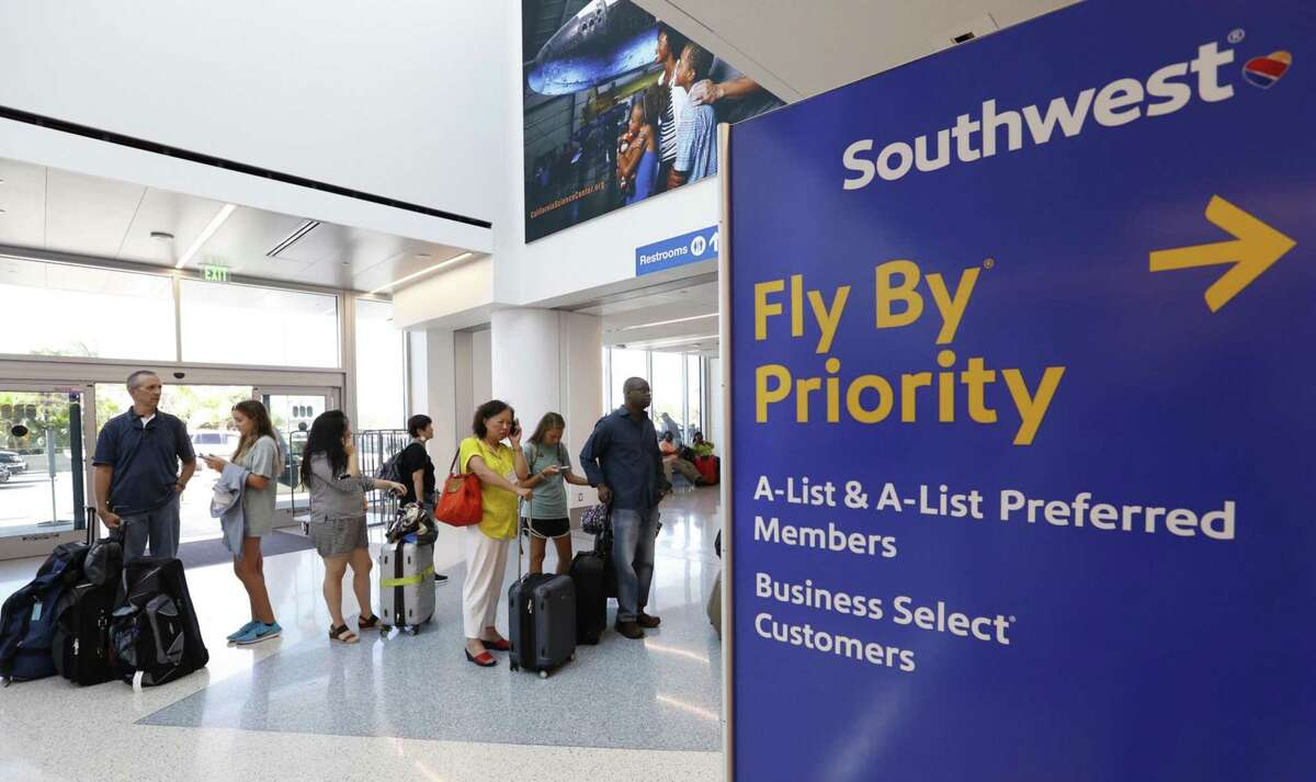 Southwest Airlines CEO Gary Kelly says the Dallas-based carrier plans to be flying out of Houston's George Bush Intercontinental Airport and to all of its international destinations in 2021.