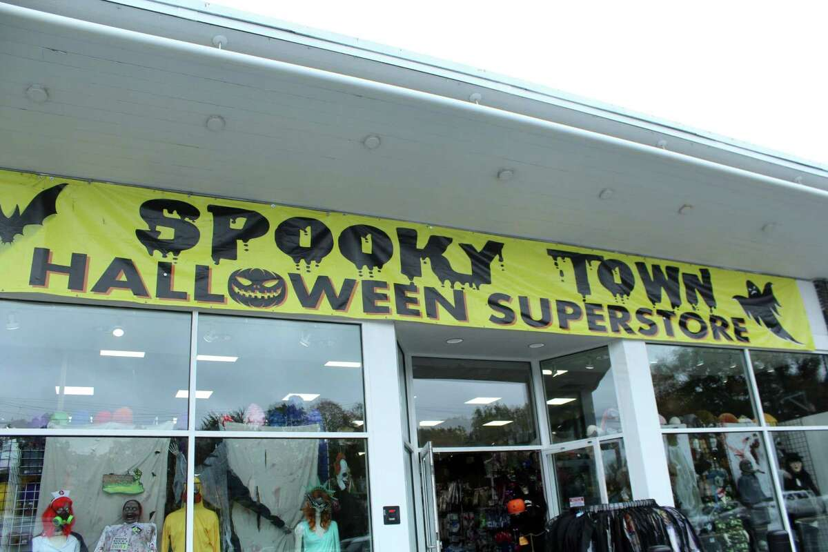 Spooky Town returned to Westport on Oct. 1 offering a wide array of halloween decorations and costumes. Taken Oct. 12, 2020 in Westport, Conn.