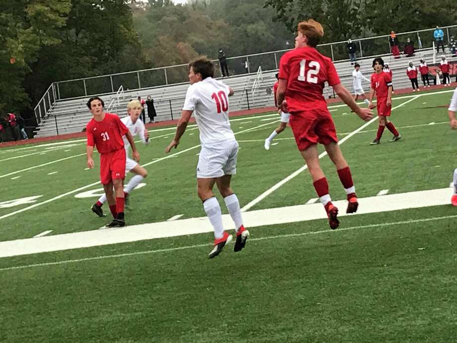 Greenwich posted a 6-0 win over New Canaan on Monday, October 12, 2020 in Greenwich, Connecticut. Photo: Contributed Photo