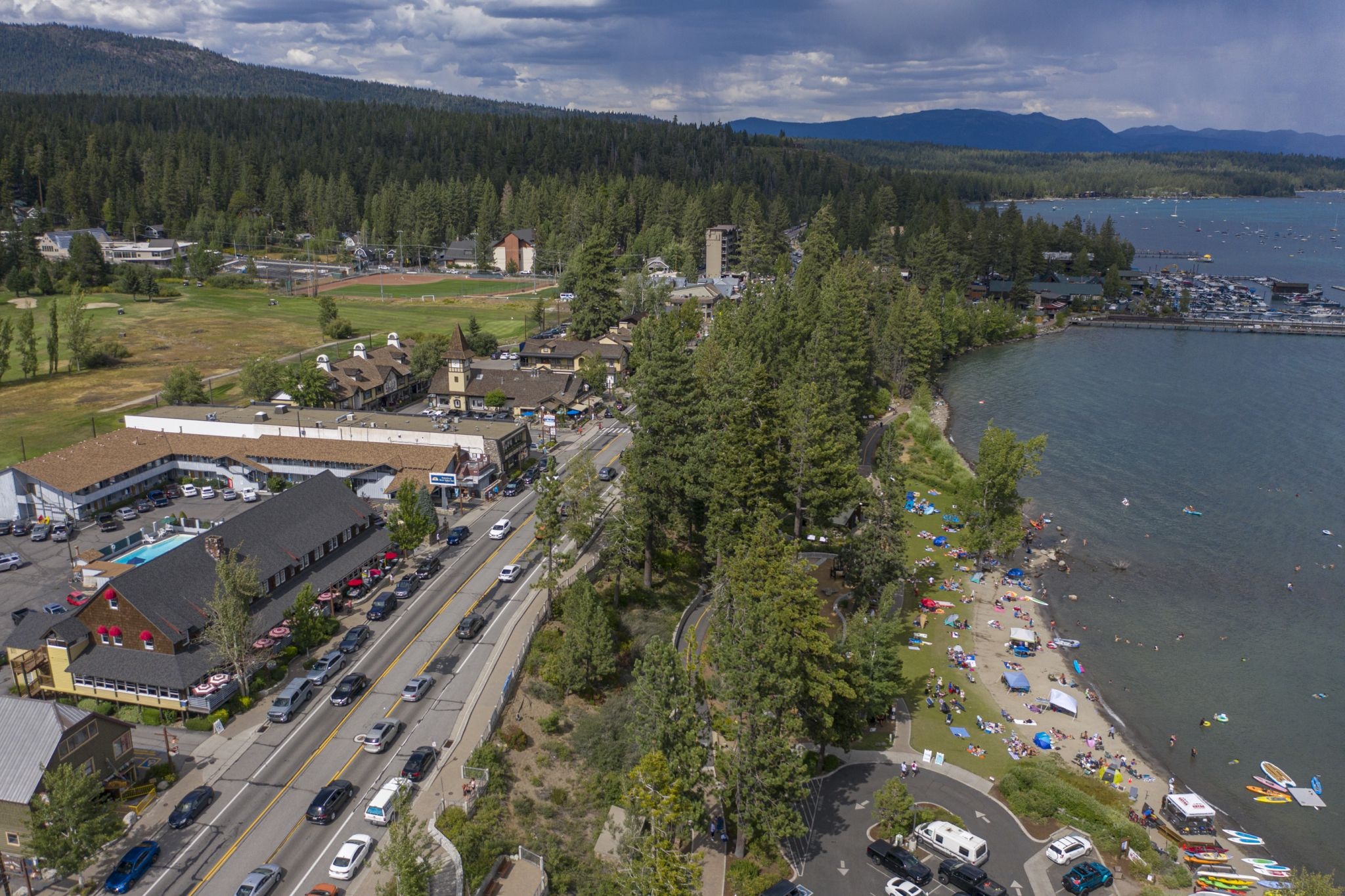 Tahoe residents blame Airbnb, county for nonstop tourism