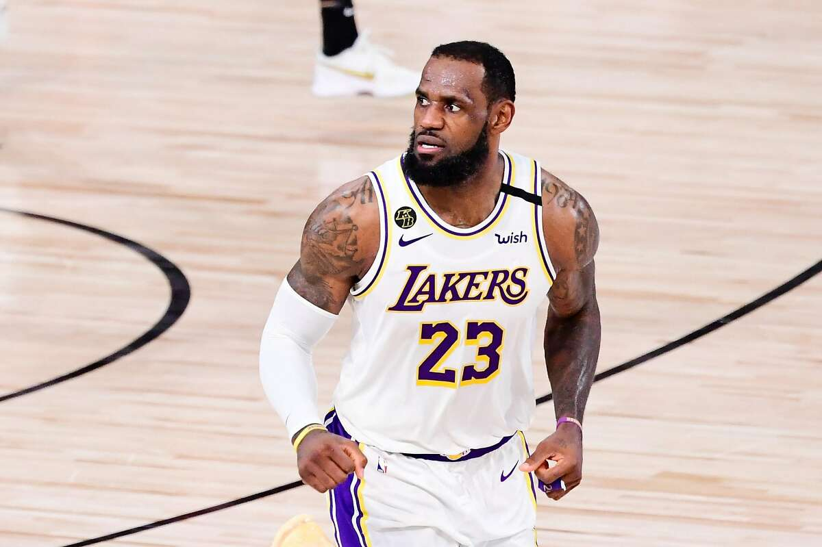 The Lakers' win over the Heat secured LeBron James' fourth NBA title.