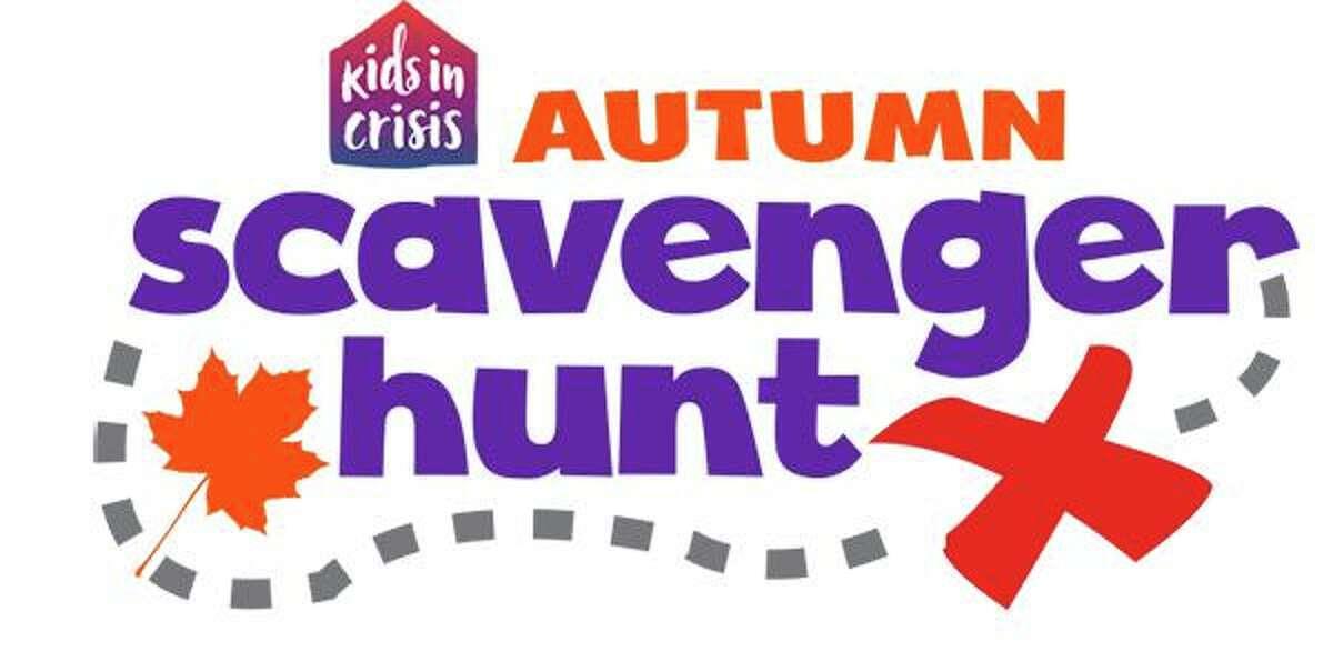 Kids in Crisis' fall scavenger hunt logo.