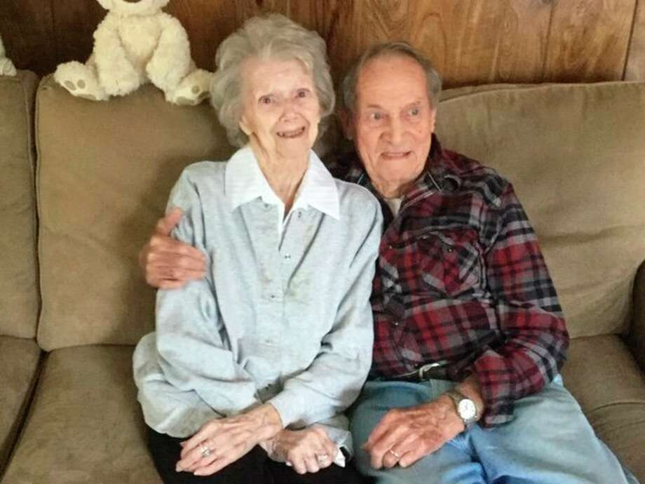 Betty andHarold Lytle recently celebrated 73 years of marriage. Both are longtime Manistee residents (Courtesy photo/Jean Badura)