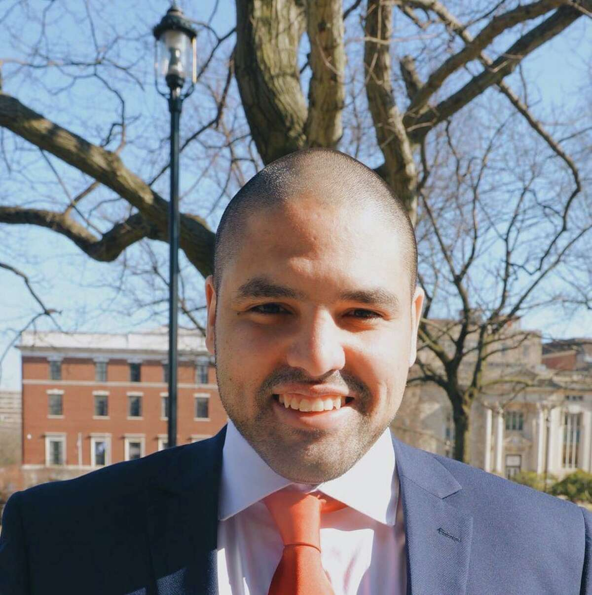 Noel Rodriquez, Democratic challenger to state Rep. Jay Case, R-Winchester.