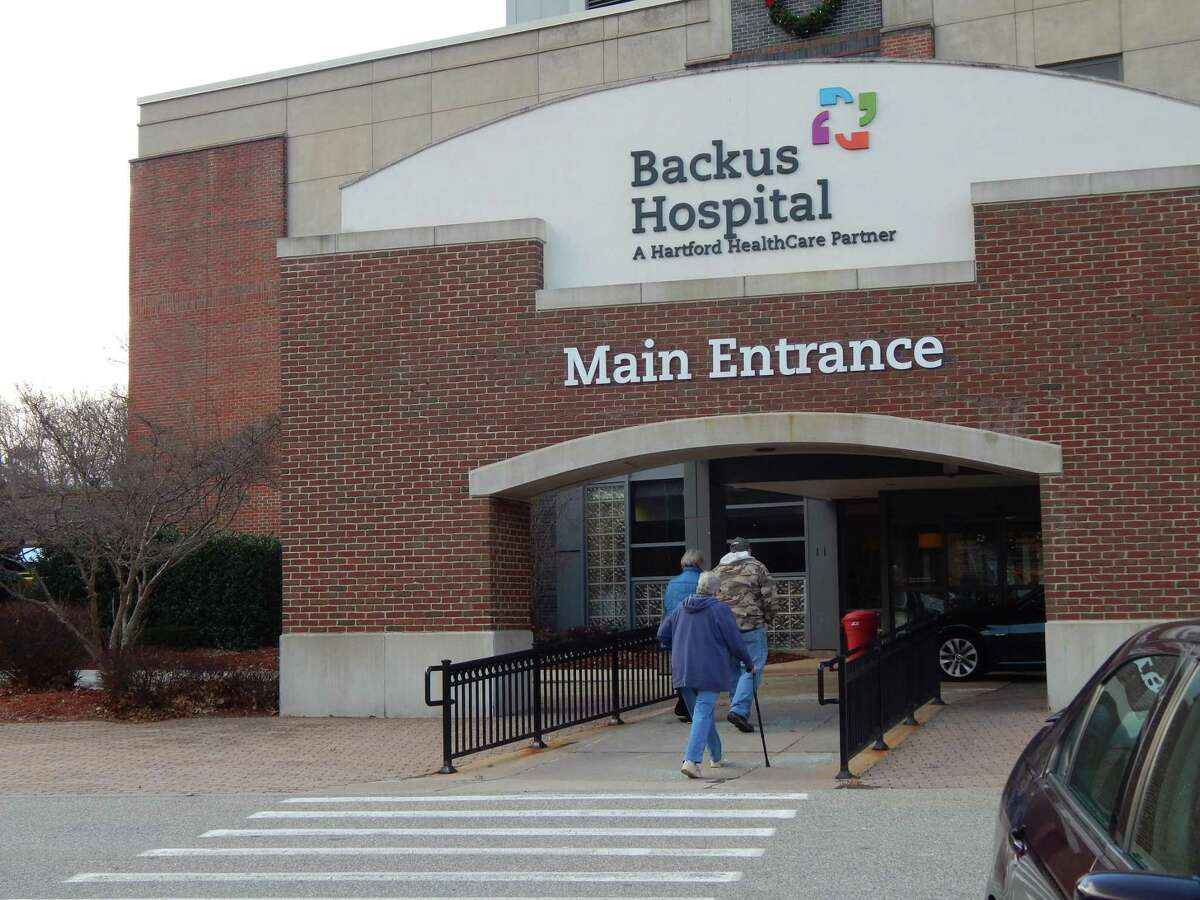 More than 400 nurses at Backus Hospital in Norwich began a two-day strike on Tuesday over a contract dispute as the hospital's COVID-19 cases has been on the rise.