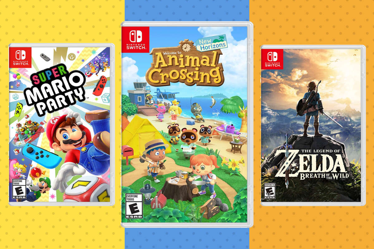 Nintendo Switch Games on Sale, Animal Crossing: New Horizons, $49.94
